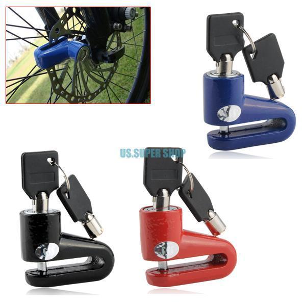 Велосипедный замок EQB470 deroace велосипедный цепной стальной замок для электрокара электро мотороллера мотора