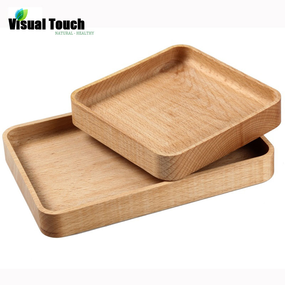 Japanese Natural Wooden Plates Handmade ZELKOVA Wood zakka Dishes For Sushi/Dessert/Snack Free Shipping Serving Tray Bed(China (Mainland))