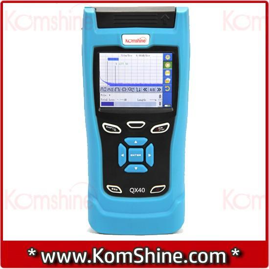 Optical-fiber-OTDR-Tester-KomShine-QX40
