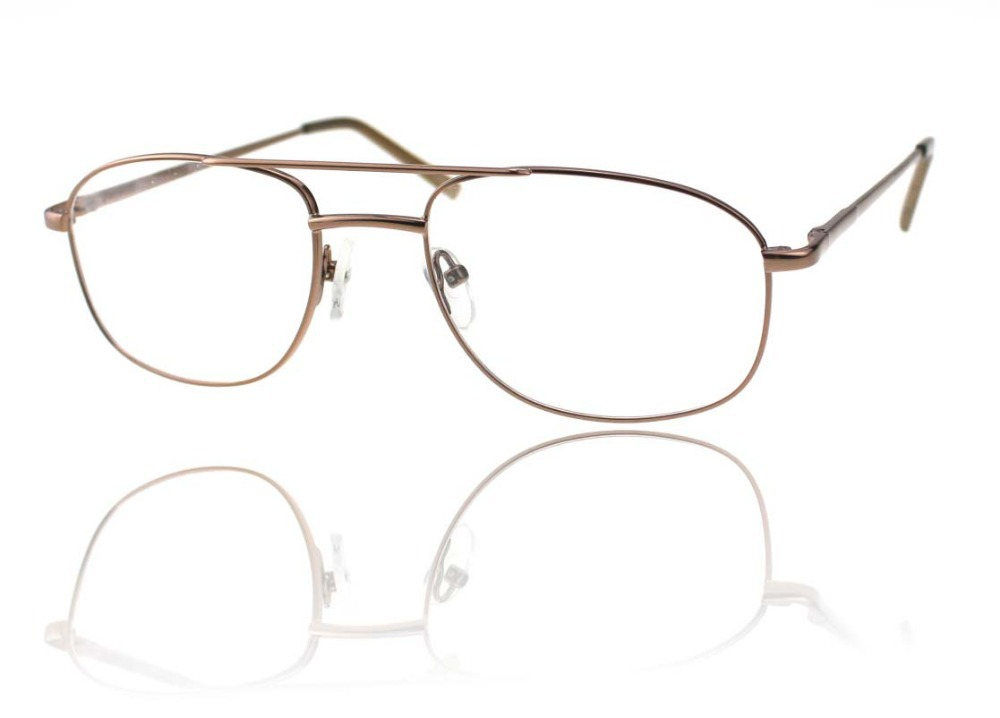 Gold Metal Glasses Frames : 2015 free shiping man metal classic vintage gold ...