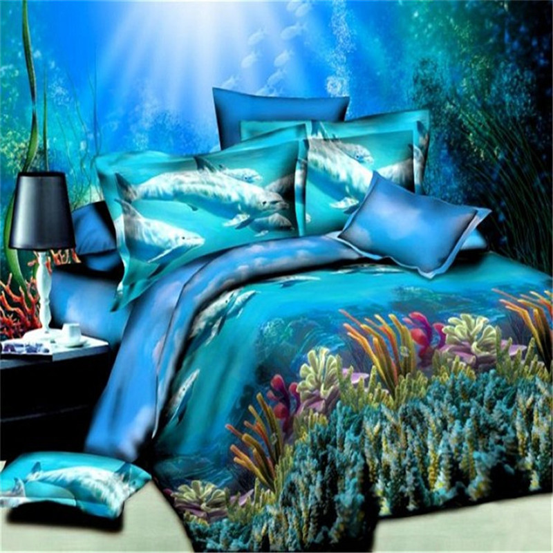 Online Get Cheap Beach Themed Bedding Aliexpress Com