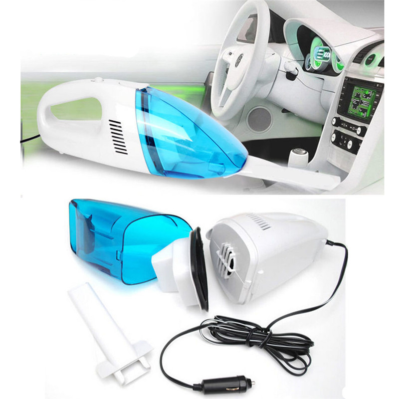 NEW 12V Mini Portable Car Vehicle Auto Recharge Wet Dry Handheld Vacuum Cleaner(China (Mainland))