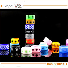 Buy 100pcs Non Slip Silicone Rubber Band Vape Rings Skull Star Style Mechanical mod rda/rba decorative e-cig protection vape ecig for $35.98 in AliExpress store