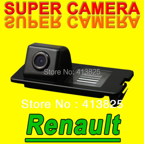 Rear view backup reverse camera for European Renault Fluence from 2011 Duster Megane Latitude waterproof NTSC PAL ( Optional)(China (Mainland))