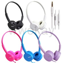 kanen ip600 Over Head Boys Girls Kids Children Teens STEREO Headband Headphones Headset With Mic For iPhone iPod iPad Music
