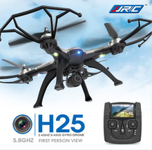 New Drone JJRC H25 5.8G FPV RC Quadcopter With 2MP Camera 2.4Ghz quadcopter Headless Mode One Key Return