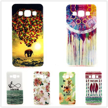 Owl Tower Flag TPU Silicone Soft Case For Samsung Galaxy A5 A5000 A500 5.0″ Back Skin Cover Cell Phone Protect ShockProof Bag