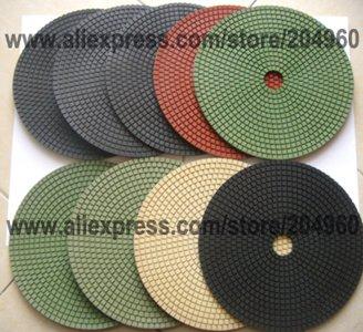 8''(200MM) Diamond Wet Economy Pads Granite,Marble,Engineered stone,8pcs/set, - Suzhou Stonemate Machinery Co., Ltd. store