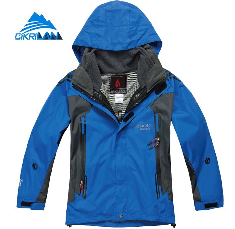 Cikrilan Hot Sale Breathable Camping Kids 2in1 Winter Jacket Boys Girls Windproof Ski Hiking Chaquetas Anti-wear Outdoor Coat<br><br>Aliexpress