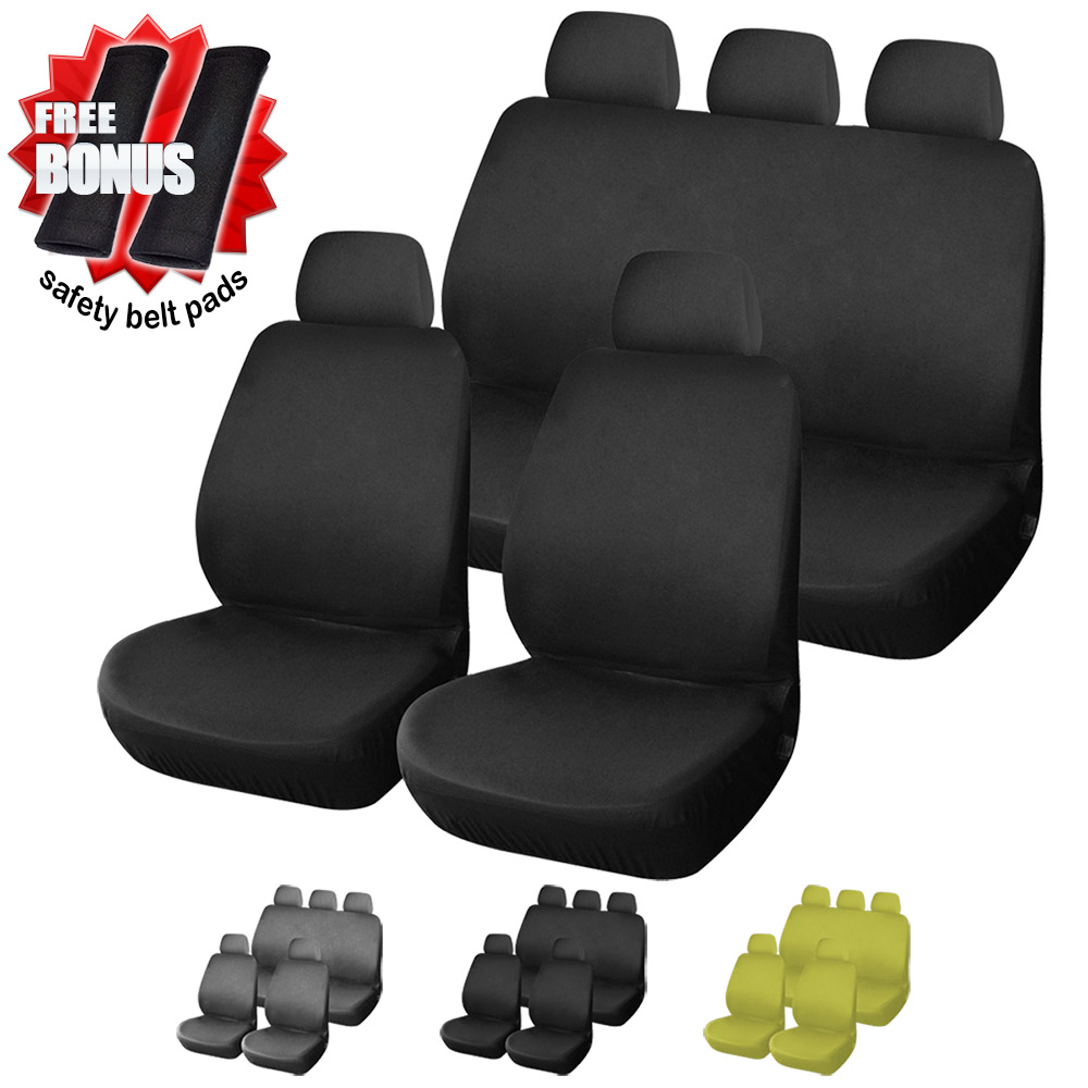 C8RB Universal Fashion Full set 9 Pieces Car Cover Auto Interior Accessories Automotive Car Seat Cover - Buy and Get Bonus(China (Mainland))