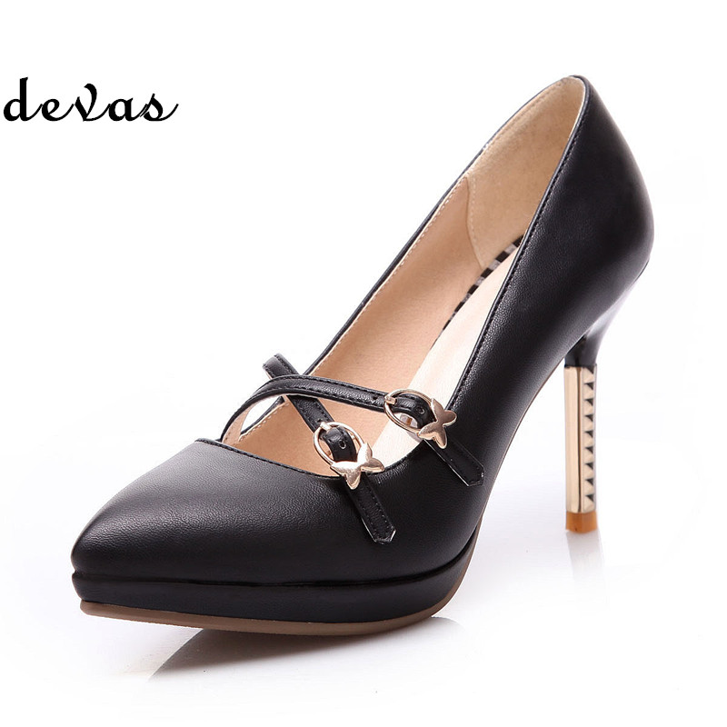 New 2015 women pumps sexy high heels shoes woman pointed toe ladies shoes platform pumps high heel shoes sapato feminino