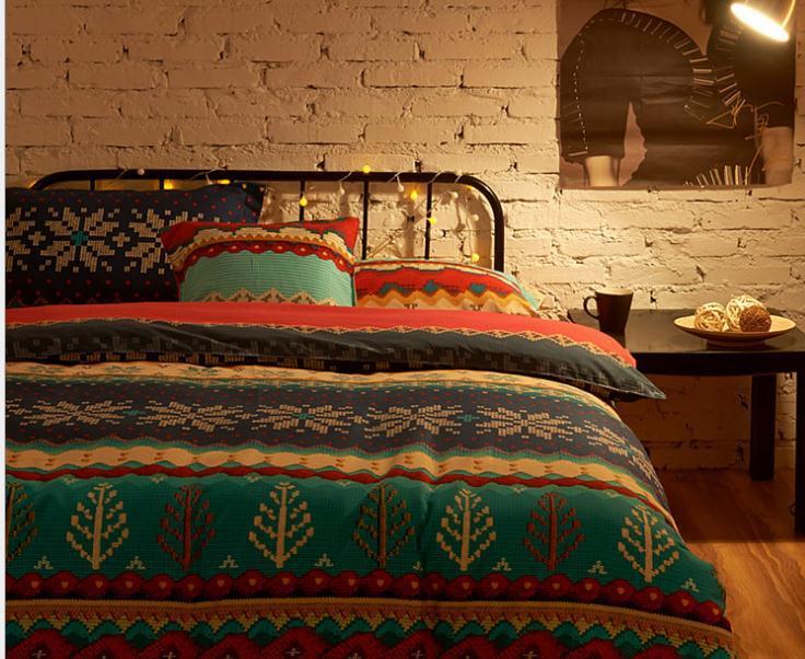 vente en gros boh me couette couvre d 39 excellente qualit. Black Bedroom Furniture Sets. Home Design Ideas