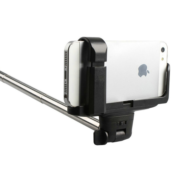 Wireless Bluetooth Extendable Monopod Handheld Self Portrait Selfie Stick with Remote Shutter Function for iPhone Samsung