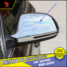 Buy Car Styling ABS Chrome Door Side Wing Mirror Cover Audi Q3 2013-2015 Rearview Mirror Protector Cover trim car Accessories for $39.99 in AliExpress store