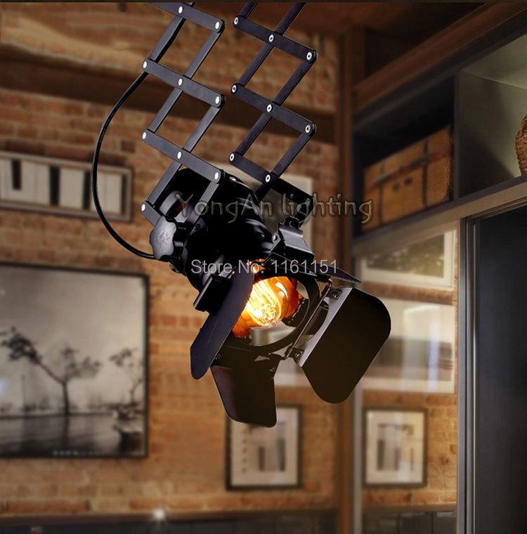 free shipping Designer loft vintage industrial lighting foldable lamp <br><br>Aliexpress
