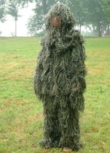 3D Ghillie Military Suits Camouflage Sniper Bowhunting Hunting Clothing()