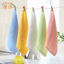 Bamboo Cellulose Color Hand-washing Towel 25*25 cm(China (Mainland))