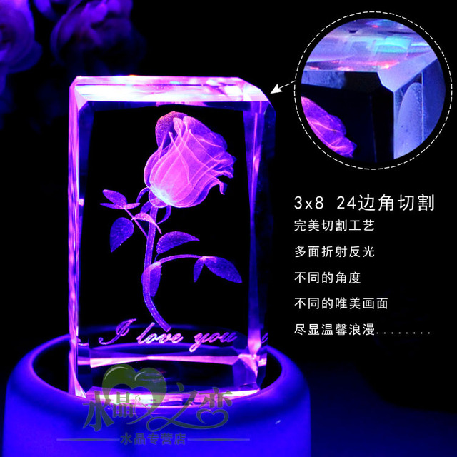 male birthday gift ideas to send girls girlfriends diy novelty crystal