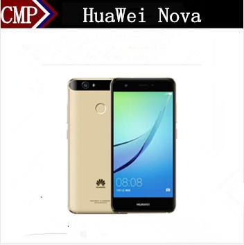 "Original HuaWei Nova 4G LTE Mobile Phone Snapdragon 625 Android 6.0 5.0"" FHD 1920X1080 4GB RAM 64GB ROM Fingerprint 12.0MP(China (Mainland))"