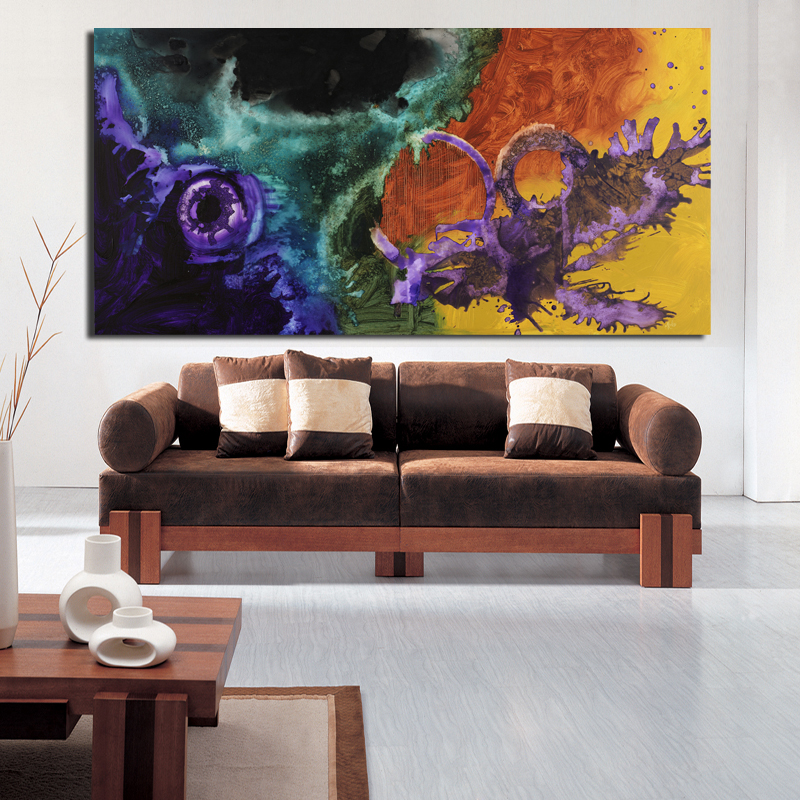 The famous living room oil painting Abstract art wall painting HD print canvas painting modern home living room art picture CX04(China (Mainland))