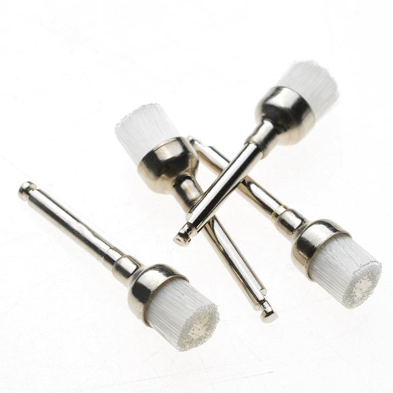 Top Seller  1 Pack Dental Prophy Brush White Nylon Bowl Shape Polishing Brush 144PCS/Pack<br><br>Aliexpress