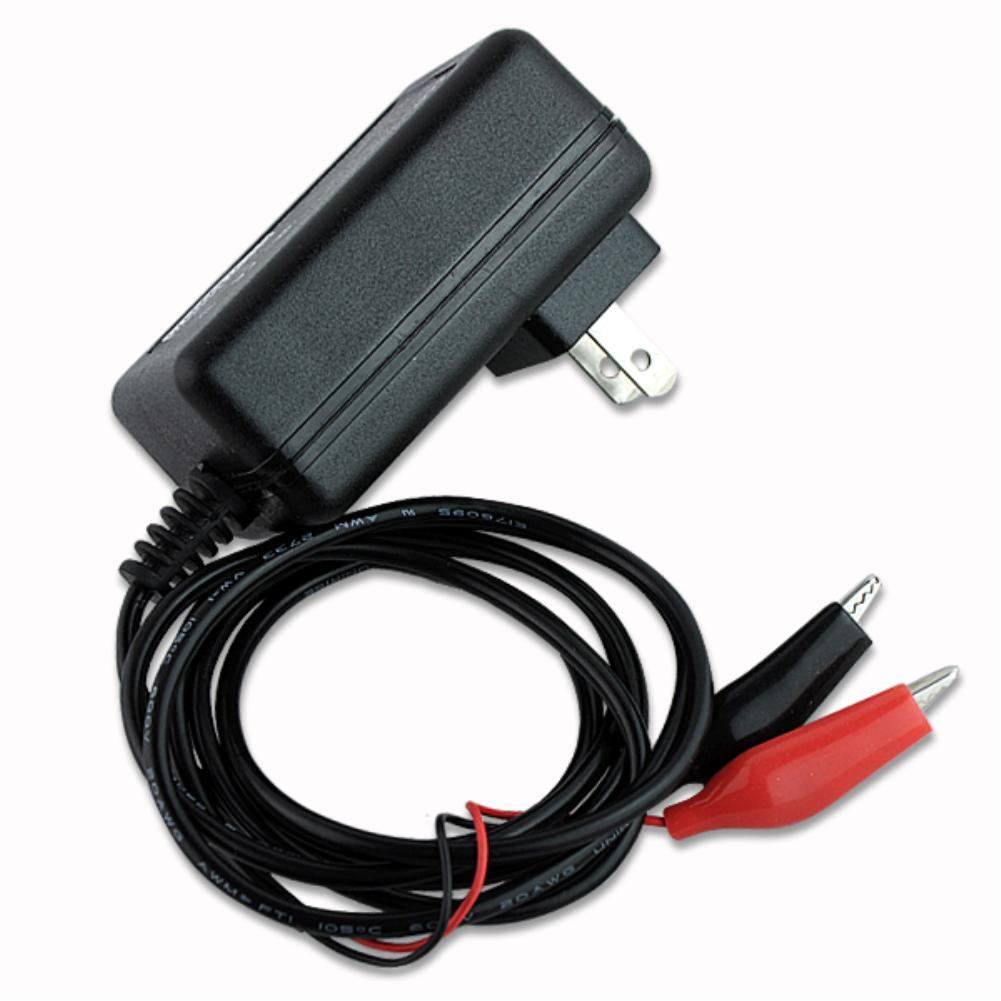 Top Quality US Plug 12V Volt Sealed Black & Red Lead Acid Battery Chaiger Rechargeable(China (Mainland))