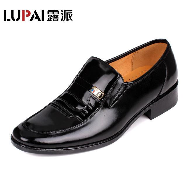 Высококачественные мужские ботинки из воловьей кожи