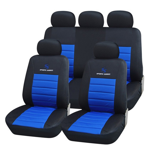 Auto Youth High Quality Mesh Material Car Seat Covers Universal Fit Lightning Embroidery Design Car Seat Interior Accessories(China (Mainland))