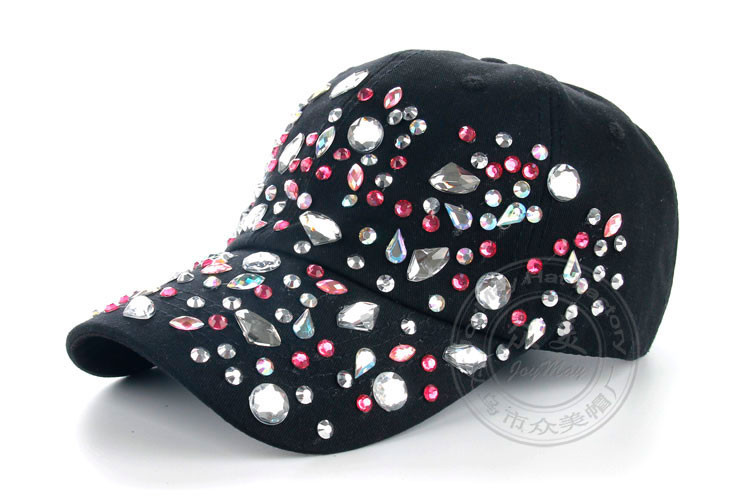 Высокое качество оптовая продажа розничная JoyMay Hat Cap мода досуг стразы хлопок красочных точек шапки летом бейсболка B226