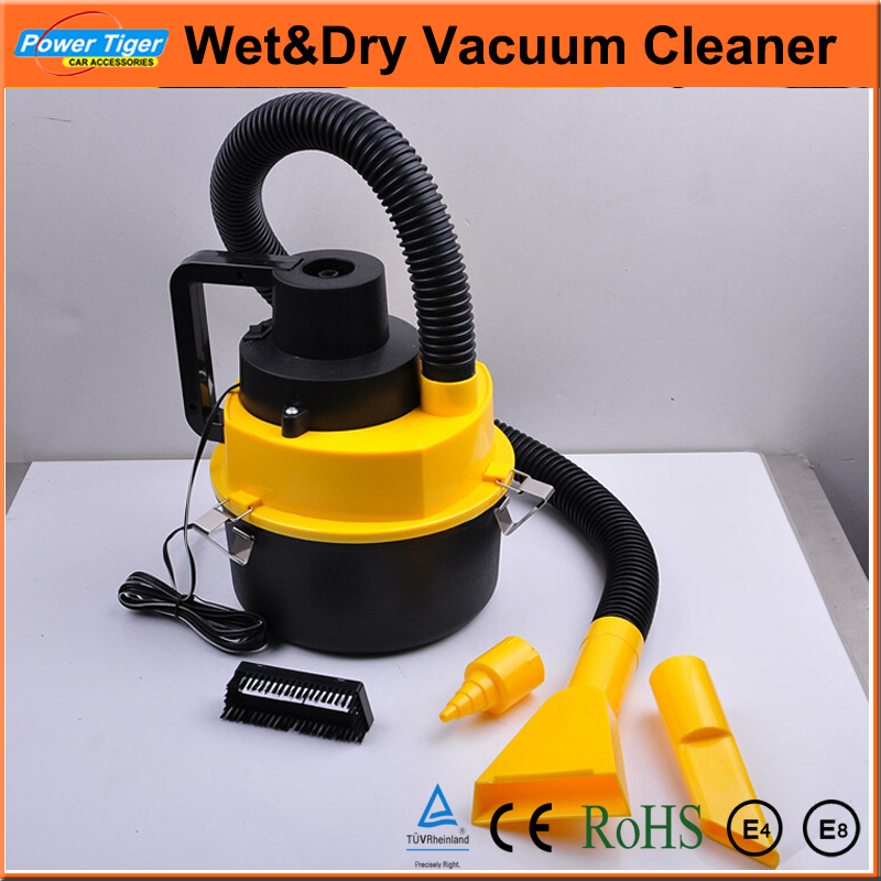 EXW Price Car Styling 12V Mini Car Handheld Multifunctional Portable Car Dust Collector Portable Wet and Dry Car Vacuum Cleaner(China (Mainland))