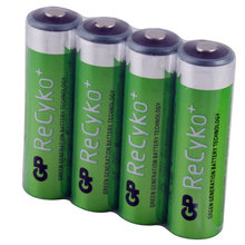 4 PCS Hi-power GP Recyko 2050mAh 1.2V Ni-MH NIMH Rechargeable AA Battery ECOS #1 ECOS #22537(China (Mainland))