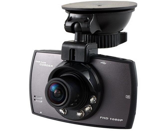 "G30BL 2.4"" TFT Screen Single Lens Vehicle Black Box DVR Car Camera Video Recorder G-Sensor (Black)(China (Mainland))"