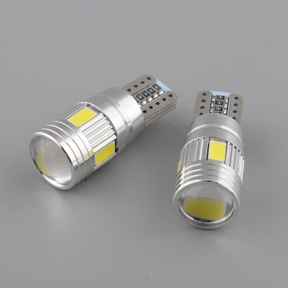2x Error Free LED Canbus T10 W5W Led for SAMSUNG 5630 SMD For VW Golf 5 6 Polo Jetta Bora Passat 3C CC B7 Tiguan BMW Benz AUDI(China (Mainland))