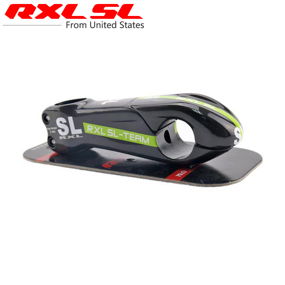 RXL SL TEAM Full Carbon Stem New 10 Degree Carbon Bicycle Stem Road Bike Full Carbon Stems BIke Parts Green UD Glossy MA29(China (Mainland))