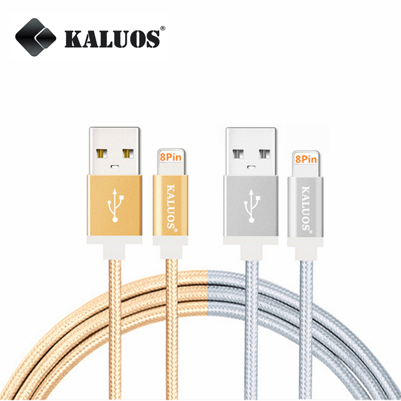 KALUOS 20cm 1m 1.5m 2m 8pin USB Charge Data Sync Cable For iPhone 5 5S 6 6S SE Plus iPad 4 mini 2 3 Air 2 iOS Fast Charging Wire(China (Mainland))