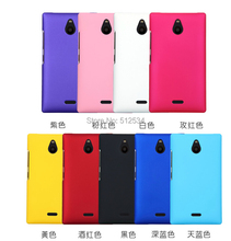 200pcs/lot free shipping New Rubber matte plastic hard cover case For Nokia X2(China (Mainland))