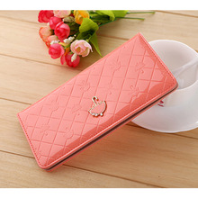 BS S Discount Sweet Umbrella Ladies Wallet Long Purse 12 Cards Holder Protector Wholesale Promotion