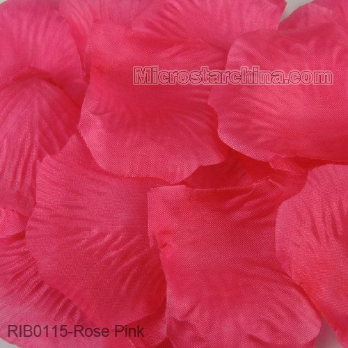 1000ps Rose Pink Silik Petals Table Confetti Flower Decoration Engagement Wedding Birthday Celebrations Free Shipping(China (Mainland))