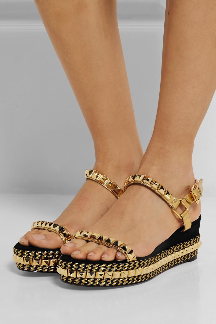 2015 Luxurious Women Sandals Genuine Leather Slippers Shoes Brand Designer High Quality Women Rivet Platfrom Flip Flops Sandal<br><br>Aliexpress