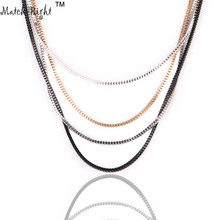 Buy Match-Right Women Necklace Alloy Chains Necklaces Long Jewelry 4 pieces multi-layer Necklace Women Accessories NL525 for $1.99 in AliExpress store