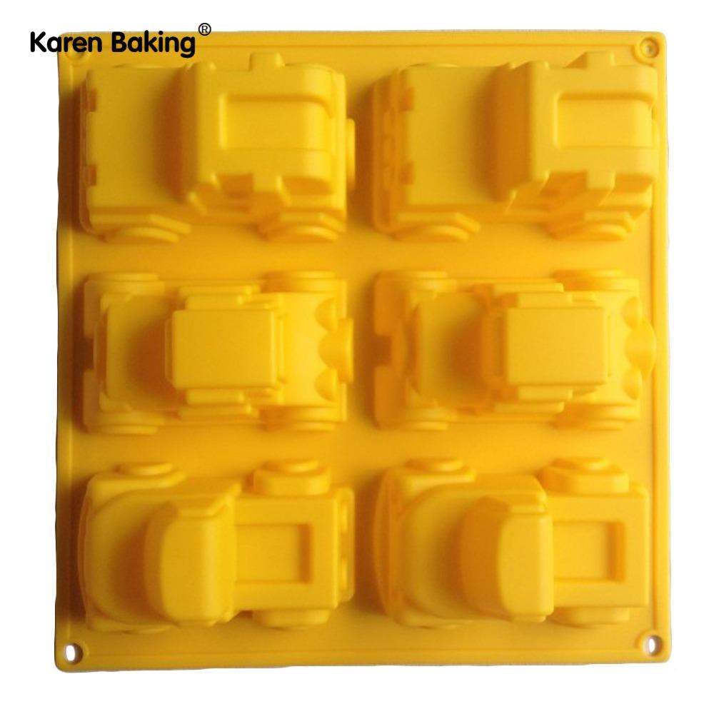 1PCS Car Mold Silicone Mold Cake Mold Cake Tools Baking Tools Bakeware Cake Tool(China (Mainland))