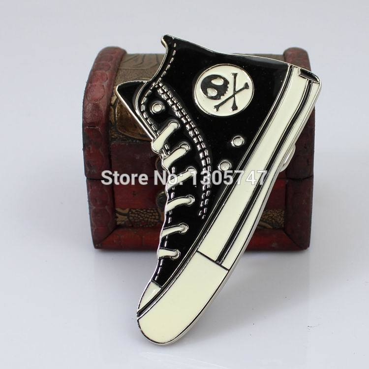 2015 Shoes ghost belt buckle hip hop cool man Men deserve to act the personality leather