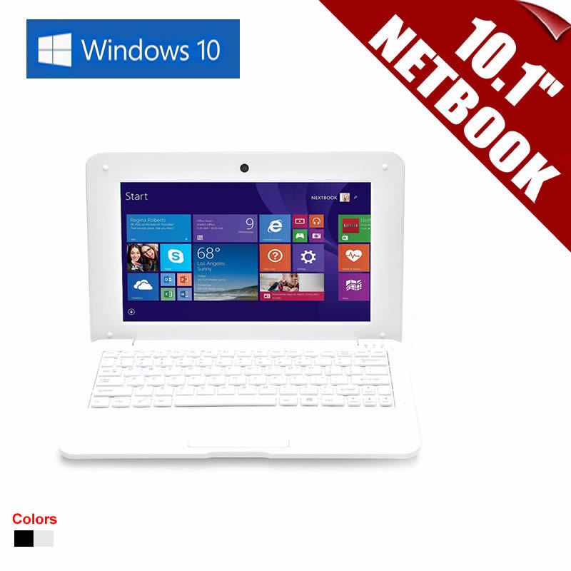 New 10.1inch 10.1 Netbook PC-1066 Quad Core Tablet PC Windows 10 CPU 2GHz Wifi 1G RAM 16GB DDR  HDMI Support MS Office    <br>