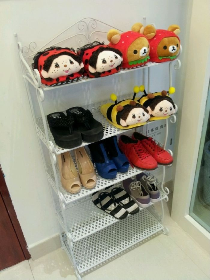 Continental Creative Iron shoe racks rack multi- fold floor- storage simple slippers<br><br>Aliexpress