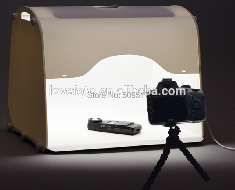 Free Shipping NEW professional portable mini studio photo graphy Light Box Soft Box MK50(China (Mainland))