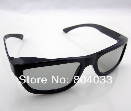 2pcs 2014 New Fashion Passive Polarized 3D Glasses for LG for Sony for Samsung Dimensional Anaglyph Movie DVD TV LCD Video Game(China (Mainland))