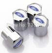 4pcs mini Chrome Tire Wheel Rims Stems Air Valve Caps Tyre Cover For ford Mini nipple free shipping