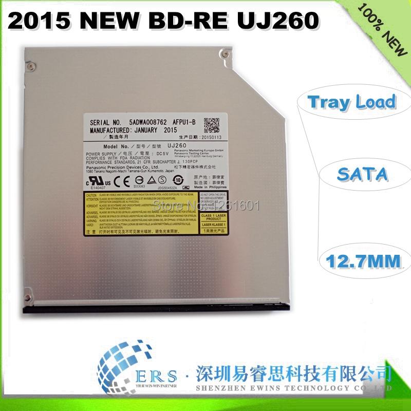 Free Shipping 2015 Brand New Internal SATA Blu-ray DVDRW/ BD-RE/ Blu ray Burner Drive UJ260(China (Mainland))