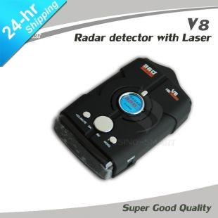 Supernova Sales New!!! No Speeding Ticket any more Auto Laser Radar Detector with Russian/English Speaking Free Shipping