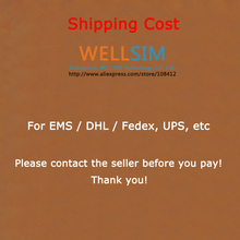 Shipping cost For EMS / DHL / Fedex, UPS, etc Please contact the seller before you pay! Thank you!(China (Mainland))